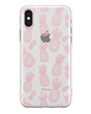 Cover Pink Ananas iPhone - Coverlab