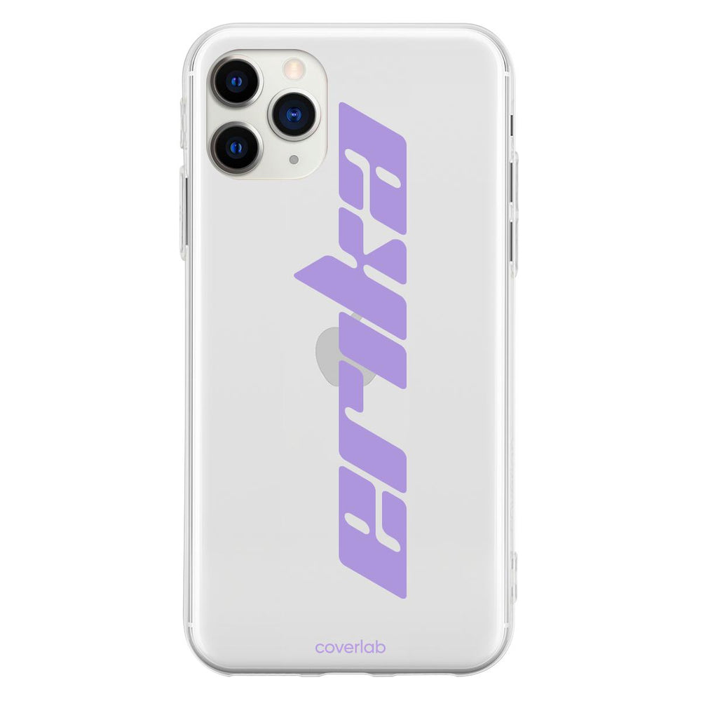 Custom Kosmos Name Clear iPhone Case - Coverlab