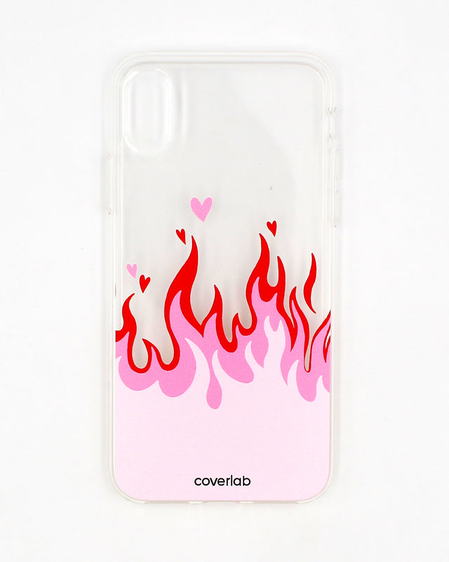 Flames Motif iPhone Case - Coverlab