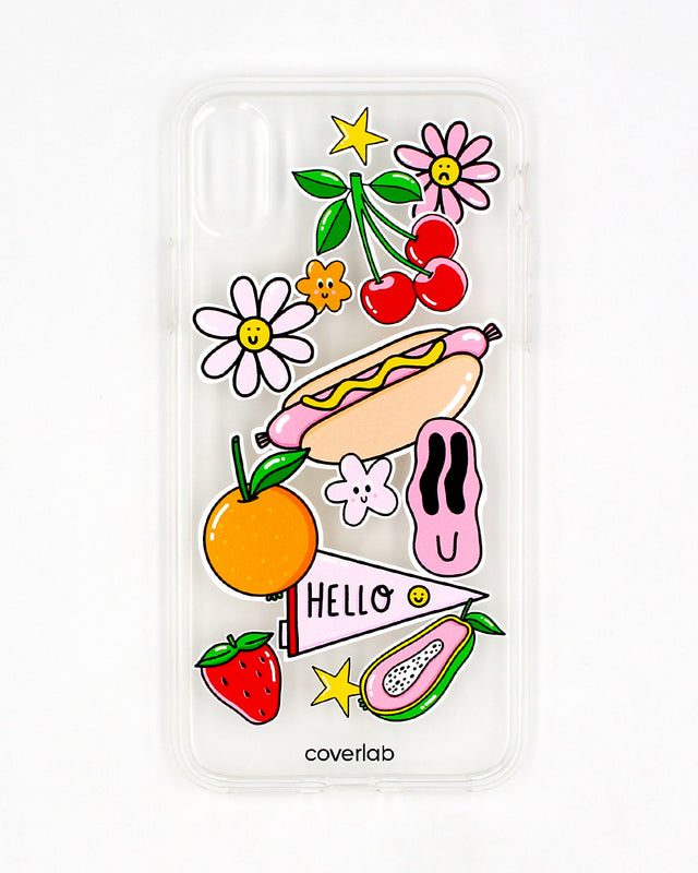 Stickers iPhone Case - Coverlab