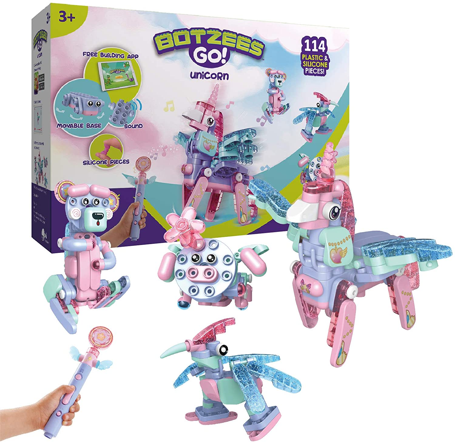 Botzees GO! - Unicorn Set