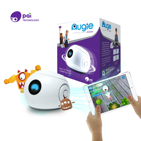 Pai Augie - Coding Robot with Augmented Reality Gameplay