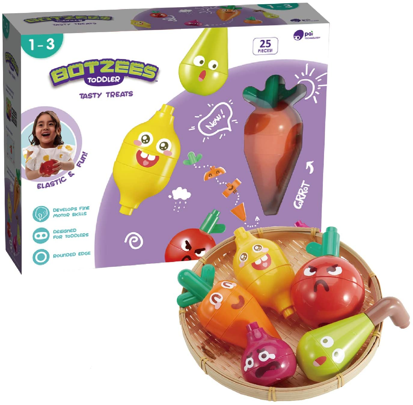 Botzees Toddler - Tasty Treats