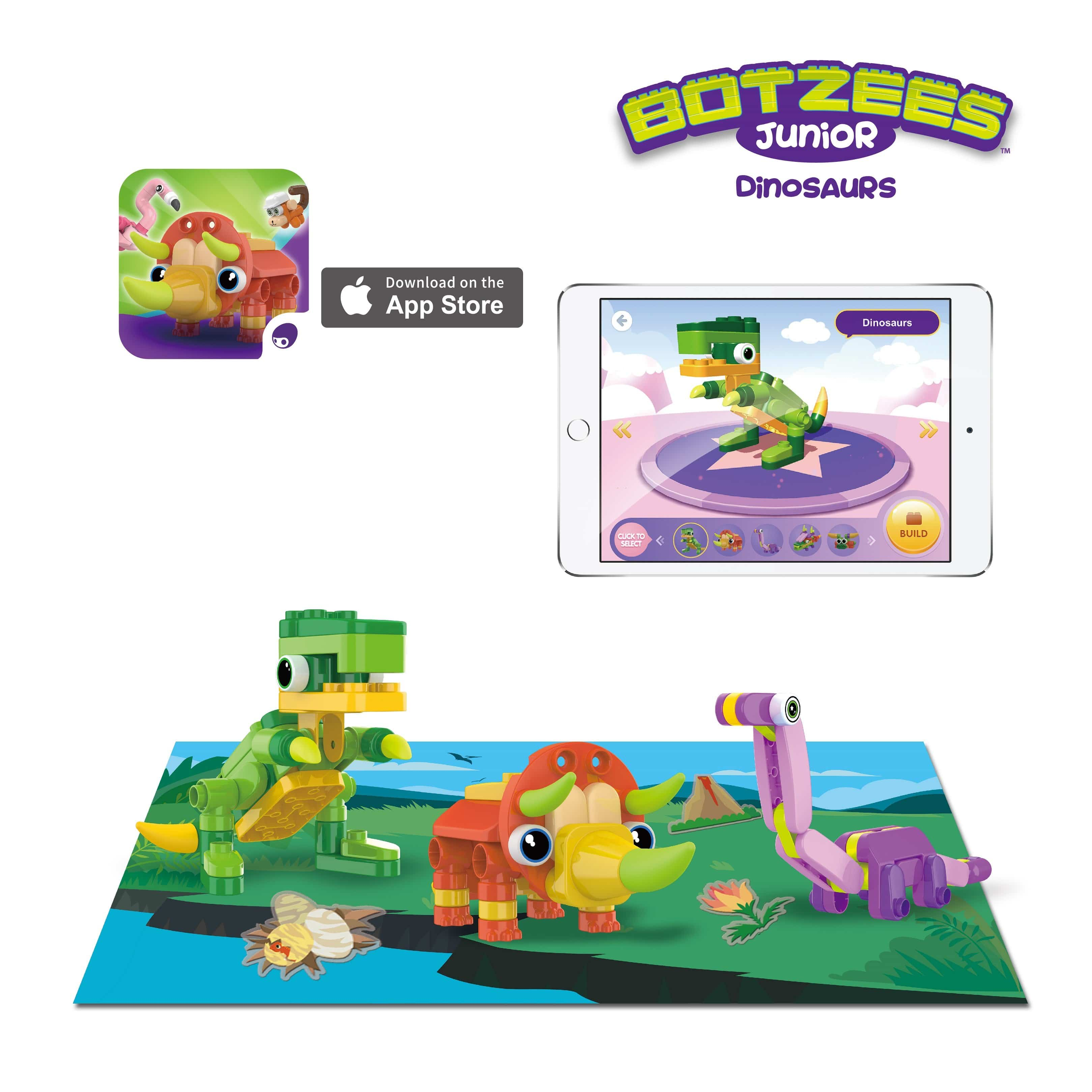 Botzees Junior - Dino Pack