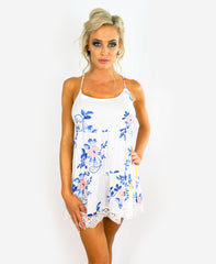 Soft Floral Cotton Chemise by In Bloom