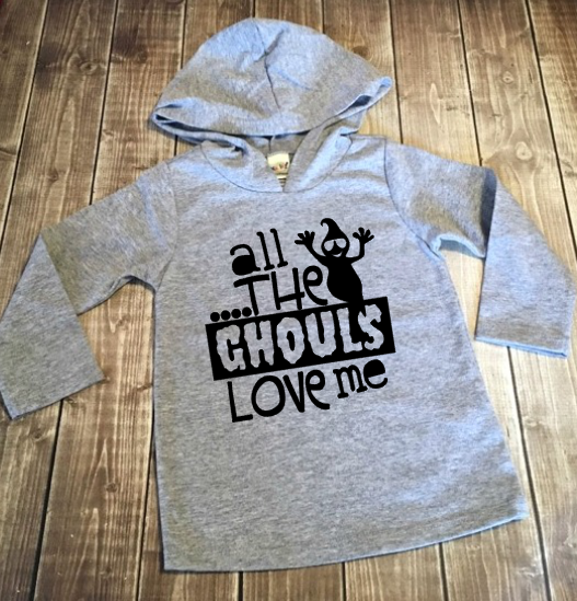 Lightweight Hoodie - All The Ghouls Love Me