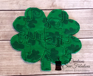 Shamrock Shaped Puzzle