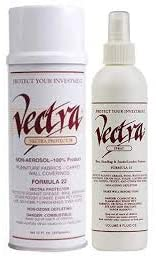 12 oz Vectra Fabric Protector AND 8oz Vectra Shoe, Handbag, Apparel, Leather, Suede Protector