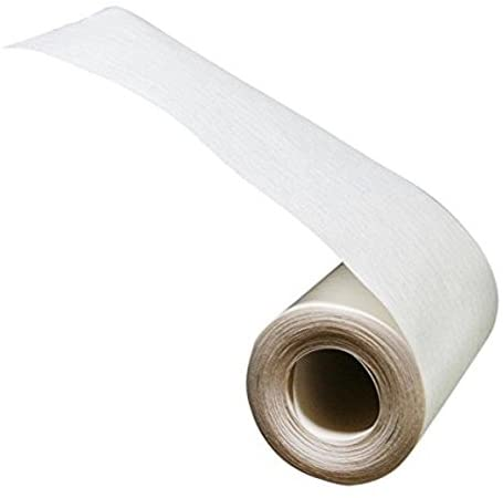 4 Inch Wide White Sew-In Buckram/Heading Tape