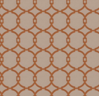 Fabricut/ Trend 03735 - Burnt Orange
