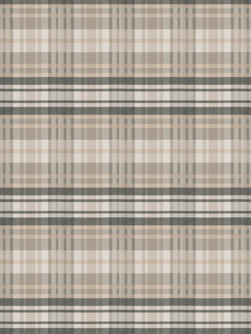 S. Harris Romy Plaid- Taupe