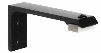 1 1/2 Channel Single Bracket- Black