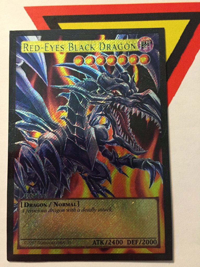 Making proxies: using 3 different materials/papers (wip): yugioh.