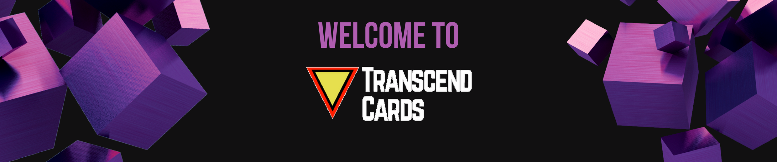 Transcend cards about us banner