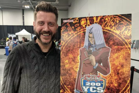 DARREN DUNSTAN TALKS MAXIMILLION PEGASUS AND ONGOING WORK ON 'YU-GI-OH!'