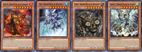 What are Yu-Gi-Oh dragons?