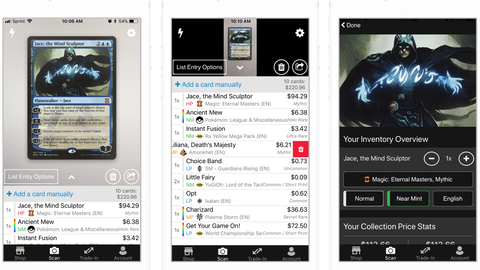 Organize Your Trading Card Game Collections with These Apps