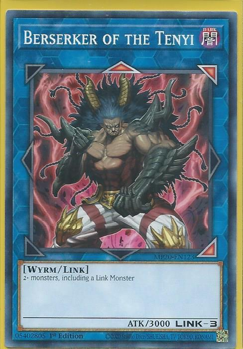 Yugioh Berserker of the Tenyi