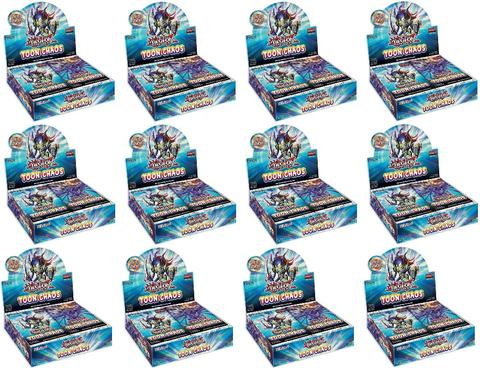 Pre-order - YU-GI-OH TOON CHAOS BOOSTER BOX [Case of 12](June 18th 2020)