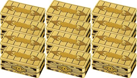 Pre-order - 2019 YUGIOH MEGA TIN GOLD SARCOPHAGUS (CASE OF 12)