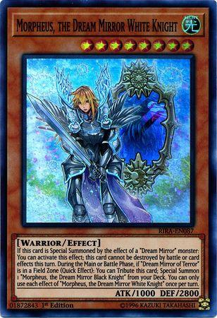 MORPHEUS, THE DREAM MIRROR WHITE KNIGHT / Super - RIRA-EN087 - 1st