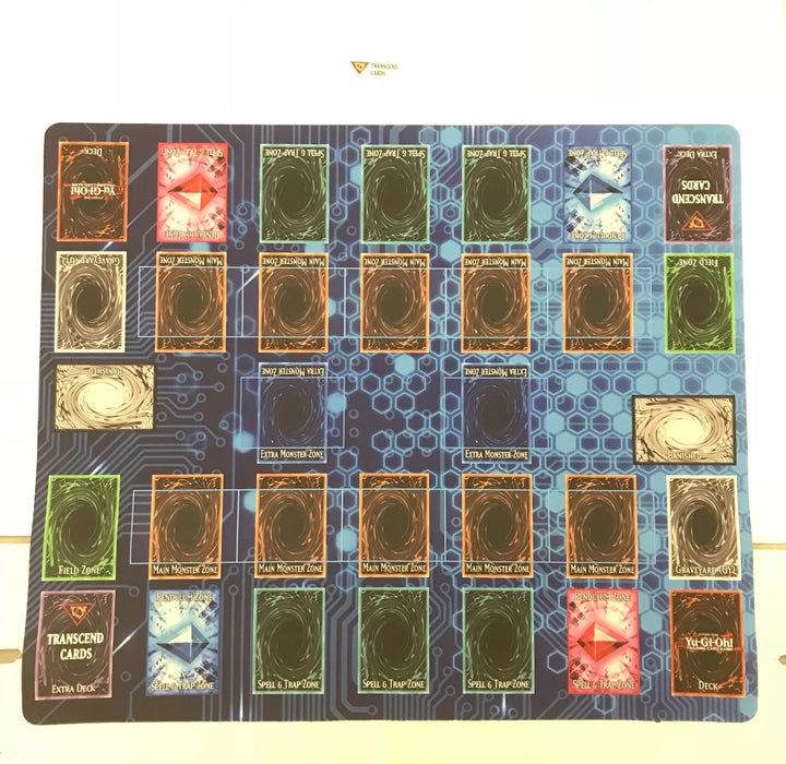 Playmat / Mouse Pad: 2-Player Link Format (Link style)