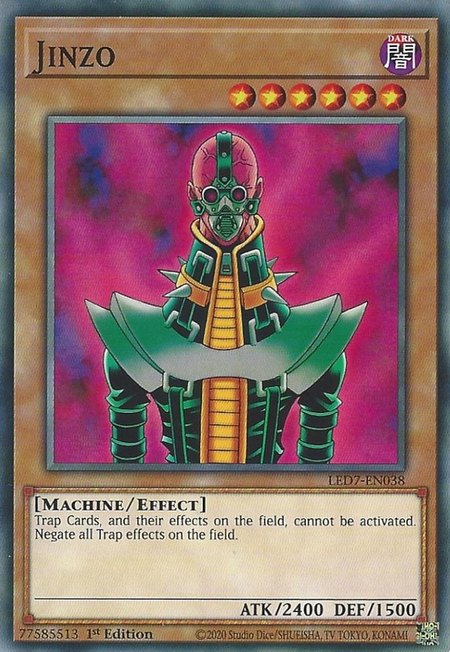 Yugioh Jinzoy / Common - LED7-EN038- 1st