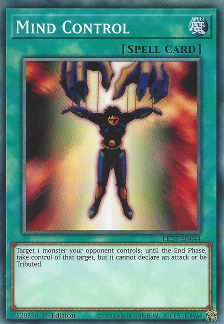 Yugioh Mind Control / Common - LED7-EN044 - 1st