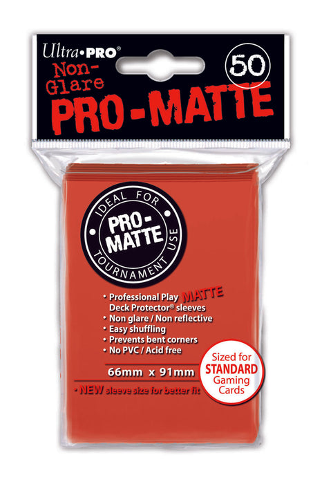 Yugioh Sleeves: Ultra Pro Pro-Matte (Small)