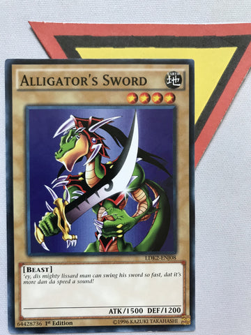 ALLIGATOR'S SWORD - LDK2-ENJ08 - 1ST