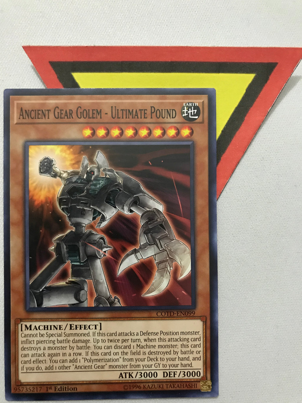 ANCIENT GEAR GOLEM - ULTIMATE POUND - COMMON - COTD-EN099