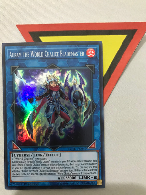 AURAM THE WORLD CHALICE BLADEMASTER - SUPER - COTD-EN049 - 1ST