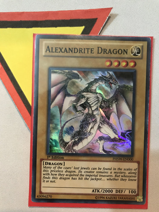 Alexandrite Dragon - SUPER - PHSW-EN000 - 1ST - LP