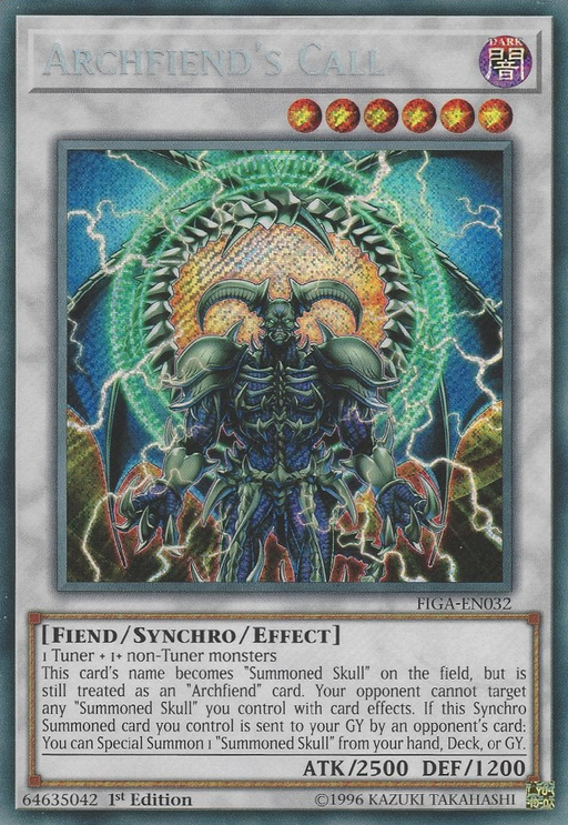 Archfiend's Call / FIGA-EN032 - Secret - 1st