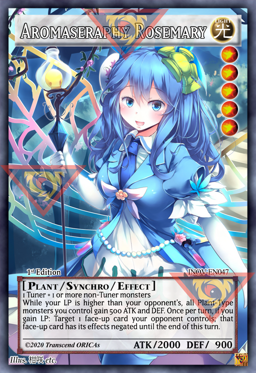 ORICA - Aromaseraphy Rosemary 01 - Full Art