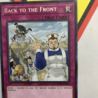 BACK TO THE FRONT - RARE - COTD-EN077