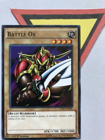 BATTLE OX - COMMON - LDK2-ENK09 - 1ST
