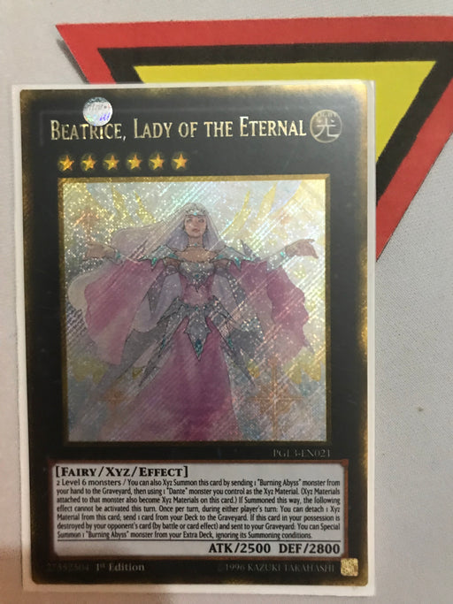 BEATRICE, LADY OF THE ETERNAL - GOLD SECRET - PGL3-EN021 - 1ST