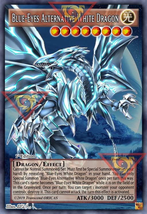 ORICA - Blue-Eyes Alternative White Dragon - Full Art