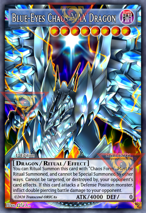 ORICA - Blue-Eyes Chaos MAX Dragon 01 - Full Art
