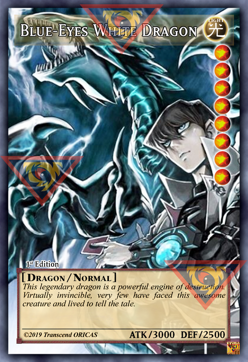 ORICA - Blue-Eyes White Dragon 02 - Full Art