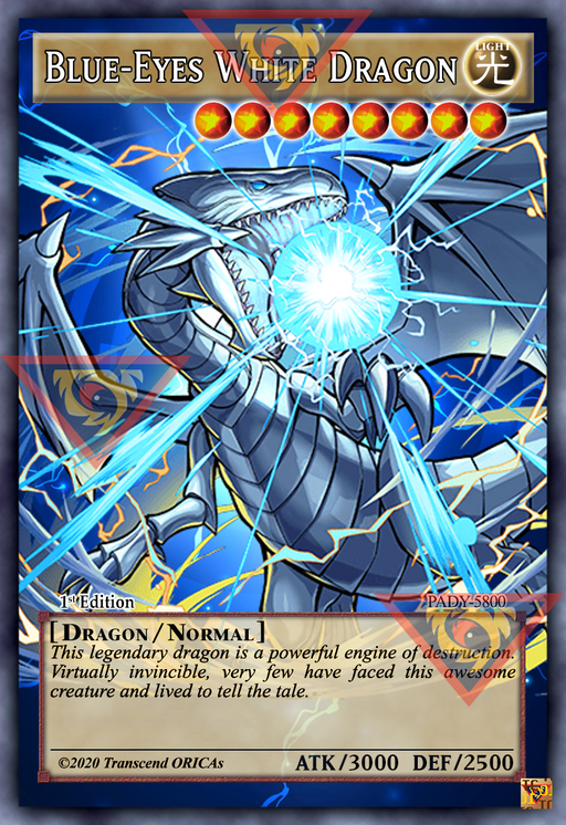 ORICA - Blue-Eyes White Dragon 11 - Full Art