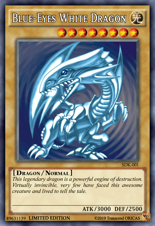 ORICA - Blue-Eyes White Dragon 00
