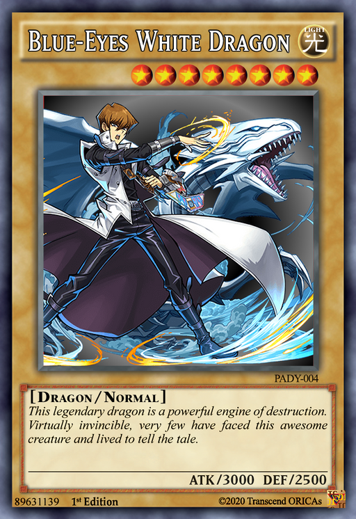 ORICA - Blue-Eyes White Dragon 09
