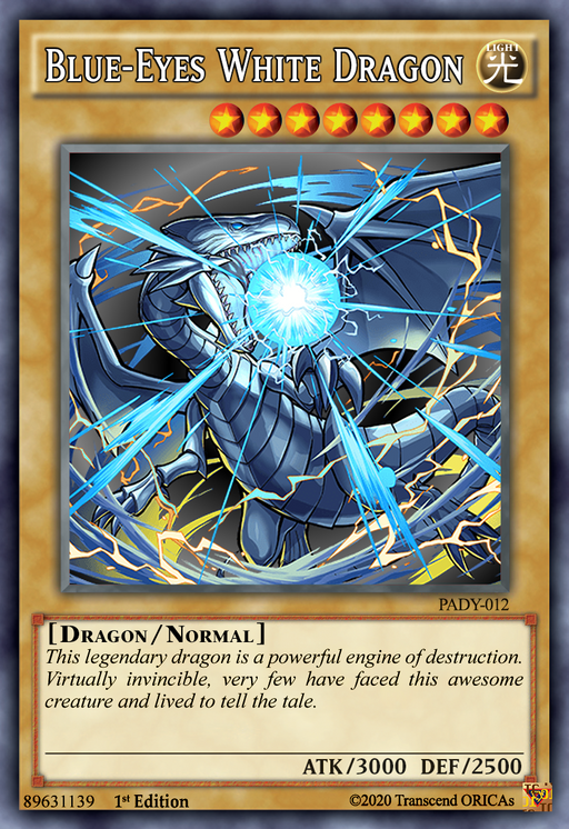 ORICA - Blue-Eyes White Dragon 10