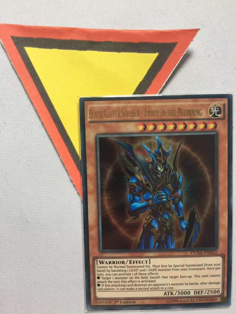 BLACK LUSTER SOLDIER - ENVOY OF THE BEGINNING - ULTRA - DUSA-EN053 - 1ST