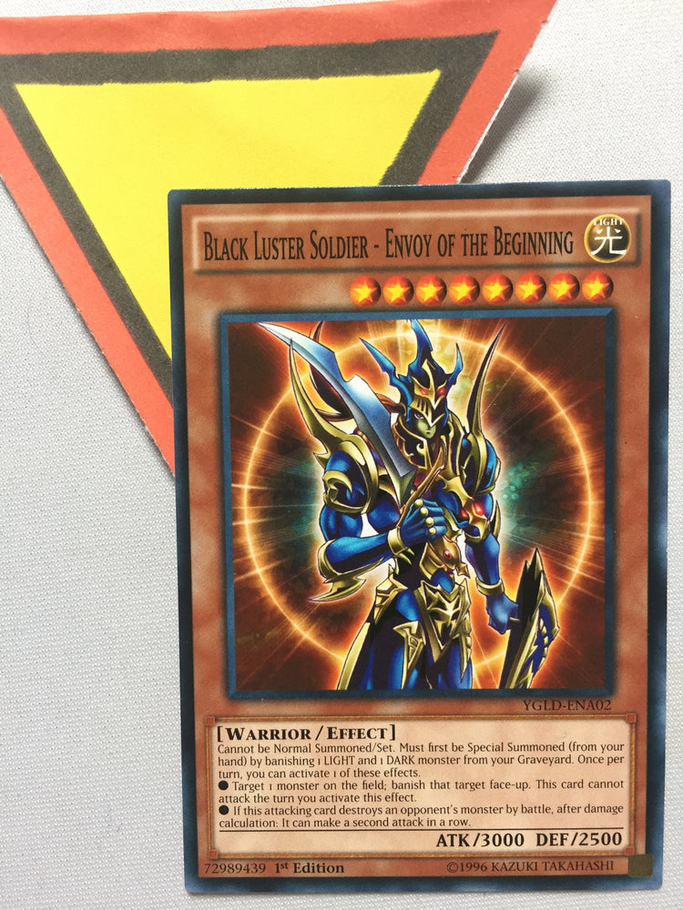 BLACK LUSTER SOLDIER - ENVOY OF THE BEGINNING - COMMON - YGLD-ENA02 - 1ST