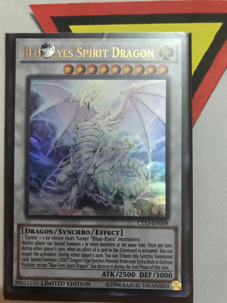 BLUE-EYES SPIRIT DRAGON - ULTRA - CT13-EN009 - LIM