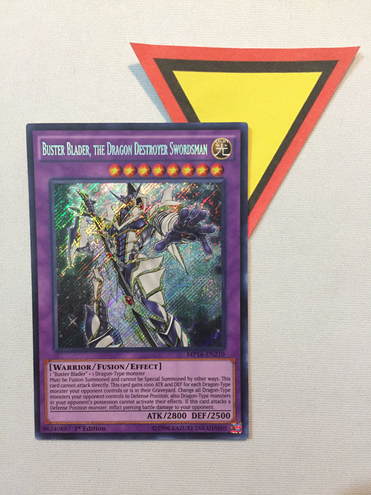 BUSTER BLADER, THE DRAGON DESTROYER SWORDSMAN - SECRET - MP16-EN210 - 1ST ED.