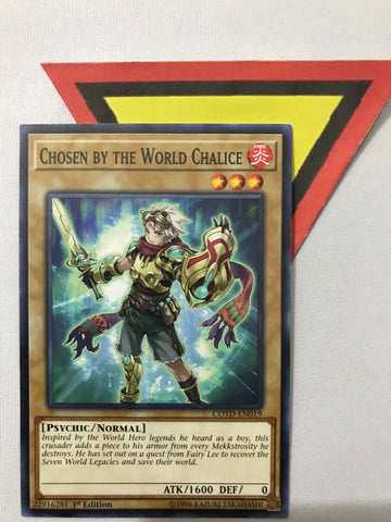 CHOSEN BY THE WORLD CHALICE - COMMON - COTD-EN019 - 1ST